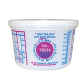 E-Z Mix 70016 Disposable Pint Mixing Cup 100/case
