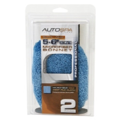 "Carrand 40406AS Microfiber Bonnet 5-6"" 2pc"