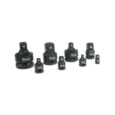 Titan Tools 40000 8 Piece Impact Adapter Set