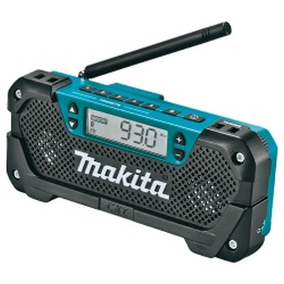 Makita RM02 12V Max CXT Li Ion Job Site Radio, Tool Only