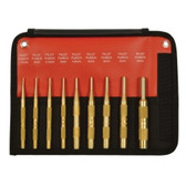 Mayhew Tools 61388 9 Piece Brass Pilot Punch Metric