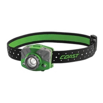 Coast 20619 FL75R Rechargeable Headlamp, Green