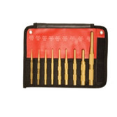 Mayhew Tools 61367 9 Piece Brass Pilot Punch