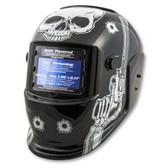 Titan Tools 41282 Auto Darkening Welding Helmet - Skull and Pistols