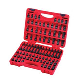 "Sunex Tools 3569 84 Piece 3/8"" Dr. Master Hex Bit Impact Socket Set"
