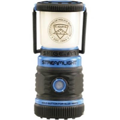 Streamlight 44949 Blue Siege Rugged, Compact Lantern w/AA Batteries