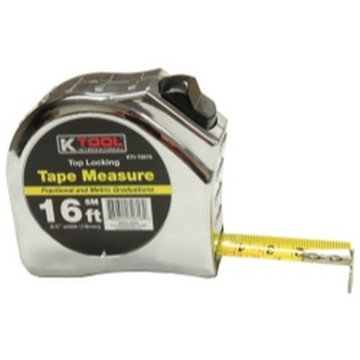 "K Tool KTI-72616 Tape Measure, 16' x 3/4"""
