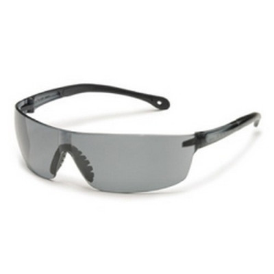 Gateway Safety 4480 Safety Glasses, StarLite Squared, Wraparound Clear Lens and Frame, Snug Comfortable Fit