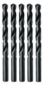 "Irwin 67510 Drill Bit, High Speed Steel, Black Oxide Finish, Jobber Length, 5/32"", Carded"
