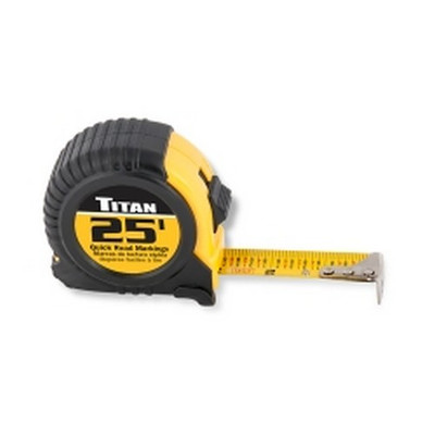 Titan Tools 10906 25ft Tape Measure