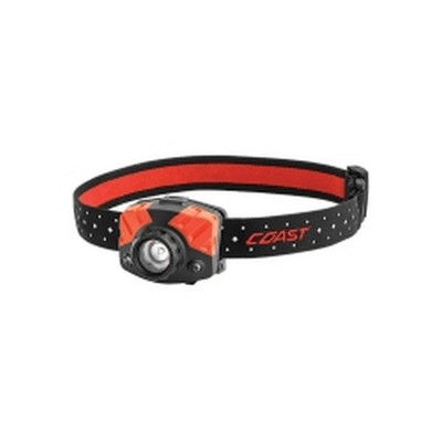 Coast 20618 FL75R Rechargeable Headlamp, Red