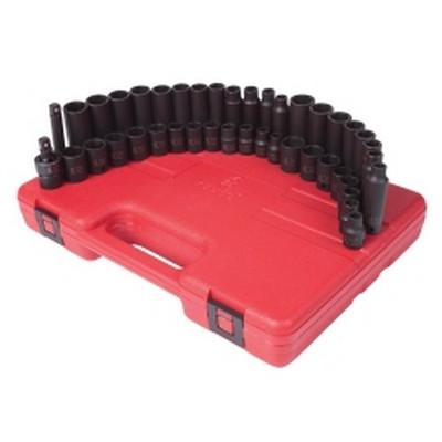 "Sunex Tools 3342 42 Piece 3/8"" Drive, Impact Socket Master Set"