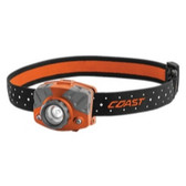 Coast 20620 FL75R Rechargeable Headlamp, Orange