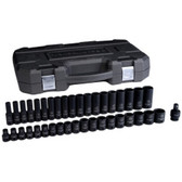 "Gearwrench 84948N 39 Piece 1/2"" Drive 6 Point MetricStandard/Deep Impact Socket Set"