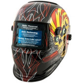 Titan Tools 41283 Auto Darkening Welding Helmet - Skull and Pipewrench