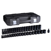 "Gearwrench 84947N 39 Piece 1/2"" Drive 6 Point SAE Standard/Deep Impact Socket Set"