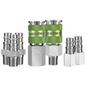 Legacy A53457FZ 7 Piece Flexzilla Pro High Flow Coupler And Plug Kit - 1/4 in. NPT