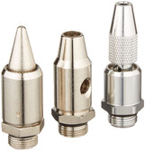 Milton S183 Turbo Blow Gun Nozzle Kit - 3 Piece