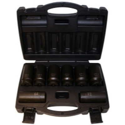 Cal Van Tools 976 8 Piece 12 Point Axle Nut Socket Set