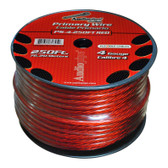 Audiopipe PS4RD Flexible Power Cable Red 250 Ft.