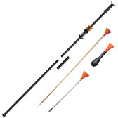 Cold Steel B6255TZ Big Bore 5 Ft .625 Two Piece Blowgun