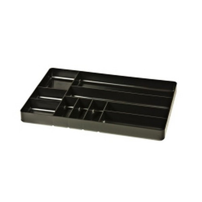 Ernest 5011 10 Compartment Tray, Black