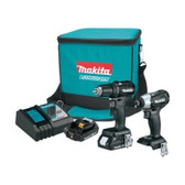 Makita CX200RB 18V LXT Sub-Compact BL 2 Piece Combo Kit