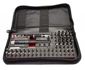 Wiha 75971 Master Tech Micro Bit 68 Pc. Set In Travel Case