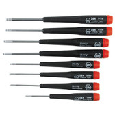 Wiha 26490 Precision Ball End Hex Inch Driver 8 Piece Set