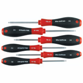 Wiha 36291 6 Piece Torx SoftFinish Screwdriver Set