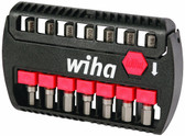 Wiha 76894 Terminator Impact Power Bit Buddy Hex Inch/Metric 7 Piece Set