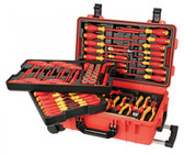Wiha 32800 Insulated 80 Piece Set In Rolling Tool Case