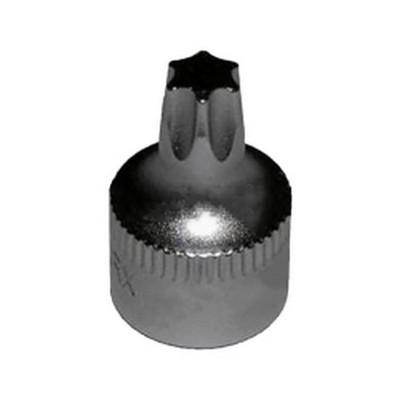 """VIM Tools HCT10-04 T10 - 1/2 Cut Torx Drr, 1/4"""" Sq Dr, 3/4"""" Oal, S2 Steel"""