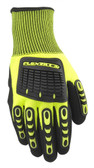 Flexzilla F589XL Impact Protection Nitrile Work Gloves, Polyester Knit Shell, XL
