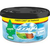Car Freshner UFC-17874-24 Little Trees Air Fresheners Summer Linen Fiber, 4 Pack