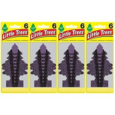 Car Freshner U6P-67329 Little Trees Air Fresheners, Bold Embrace, 6 Pack