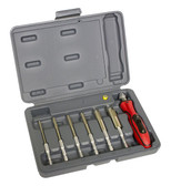 Lisle 72300 LED Quick Change Deutsch Terminal Tool Set, 1 Pack