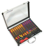 Electronic Specialties 149 Universal Test Connector Kit w/Storage Case 54 Piece