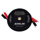 SG Tool Aid 22810 2 Leads x 30' Retractable Test Lead Reel
