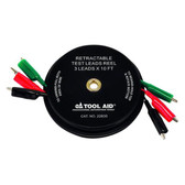 SG Tool Aid 22830 2 Leads x 30' Magnetic Retractable Test Leads Reel