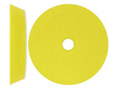 "S.M. Arnold 49-037 7"" Velocity DX Foam Pad - Yellow - Polishing Pad"