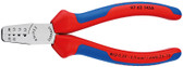 Knipex 9762145A Crimping Pliers For Wire End Ferrules With Multi-Component Grips 5 3/4 In