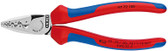 Knipex 9772180 Crimping Pliers For Wire End Ferrules With Multi-Component Grips 7 1/4 In