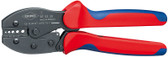 Knipex 975230 Preciforce_Ç Crimping Pliers With Multi-Component Grips 8 3/4 In