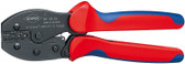 Knipex 975234 Preciforce_Ç Crimping Pliers With Multi-Component Grips 8 3/4 In