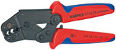 Knipex 975220 Crimping Pliers Short Design With Multi-Component Grips 10 In
