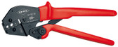 Knipex 975210 Crimping Pliers Also For Two-Hand Operation With Non-Slip Plastic Grips 10 In