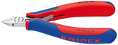 Knipex 7772115 Electronics Diagonal Cutter With Multi-Component Grips 4 1/2 In