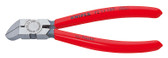 Knipex 7211160SB Diagonal Cutter For Plastics Plastic Coated 6 1/4 In