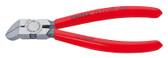Knipex 7211160SB Diagonal Cutter For Plastics Plastic Coated 6 1/4 In